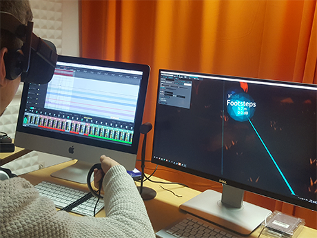 Audiomischung in Virtual Reality