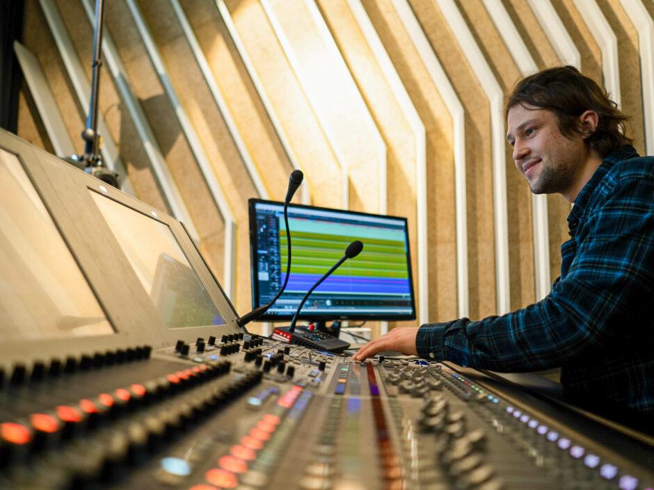 Lawo mc²56 Audio Regie